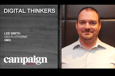 Digital Thinkers: Lee Smith, CEO Platforms, OMG