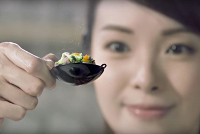 Lee Kum Kee promotes big taste using tiny food