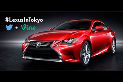 Lexus uses Twitter and Vine to sneak peek new coupe and concept cars