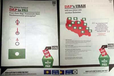 Rapp KL reputedly behind controversial Malaysian political ads