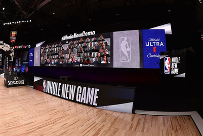 Microsoft to put fans in NBA courtside seats, virtually