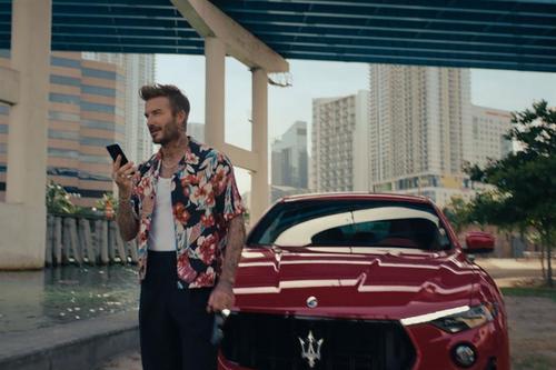 David Beckham finds escape in global Maserati campaign by Droga5