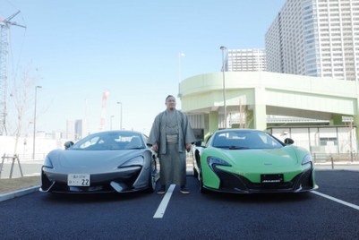 McLaren finds a connection with sumo's lightest star
