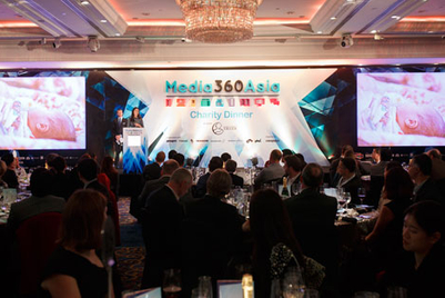 Media360Asia charity dinner raises in excess of $75,000 for Mother's Choice