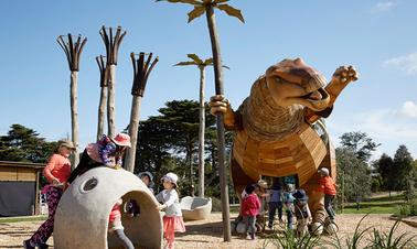 Medibank built a nifty dinosaur
