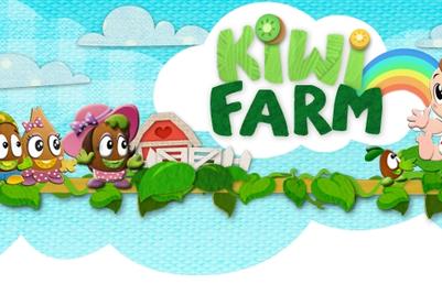 Family of kiwifruits raise abandoned human baby in Zespri mobile gaming app