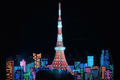 Muji creates a unique vision of Tokyo in Paris