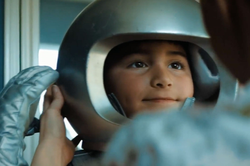 There's a reason this boy astronaut wants to escape his world