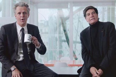 Wizened Publicis Groupe CEO Arthur Sadoun delivers comic Christmas message