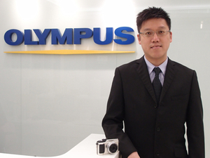 PROFILE: Olympus aiming for number three in digital cameras