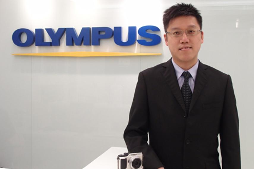 Edmond Wong, deputy marketing director, Olumpus HK & China