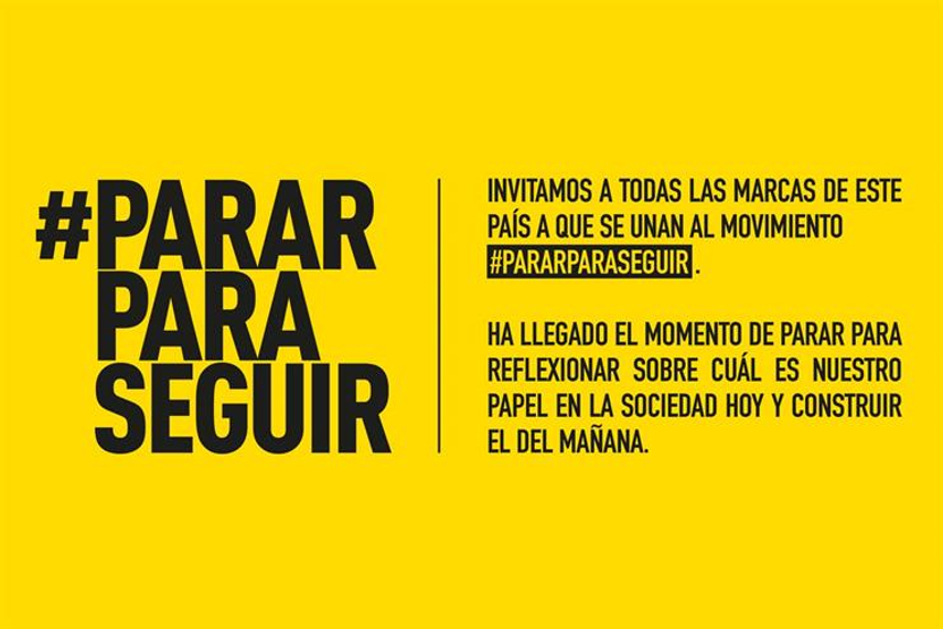 #PararParaSeguir: supported by 35 agencies.
