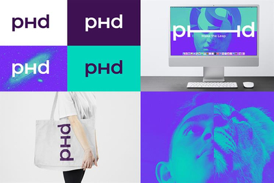 PHD refreshes brand with audio visual focus