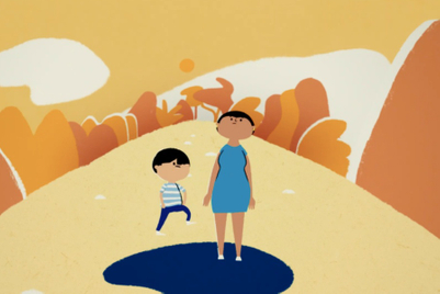An endlessly charming animation for POSB Singapore