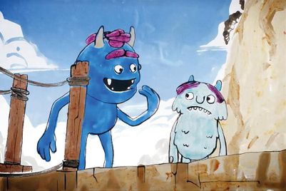Aardman animates adorable stain-based monsters for Persil