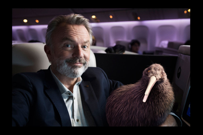 Air New Zealand employs two national icons in global campaign