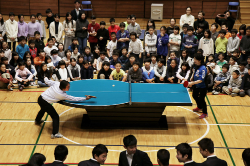 Ingenious ping pong tables convey the travails of para athletes