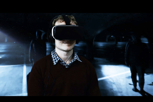 Frightening VR surrounds viewer with internal naysayers