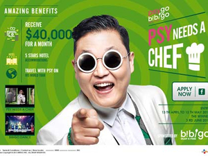 Psy seeks personal tour chef in Facebook-led campaign for Bibigo