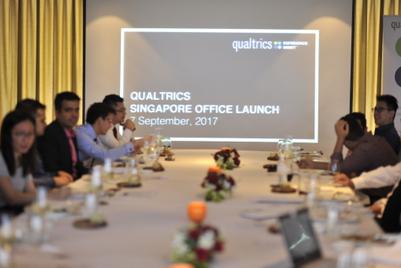 Qualtrics names Singapore as Southeast Asia HQ