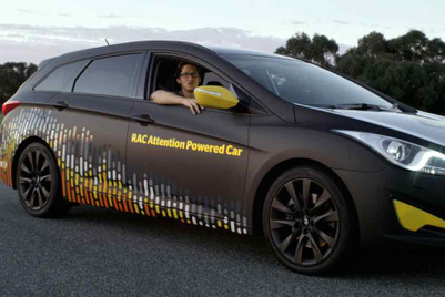 RAC hopes to save lives with car powered by attention