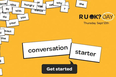 R U OK? starts quirky conversations to help prevent suicide