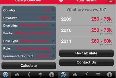 Robert Walters unveils Salary Checker iPhone app