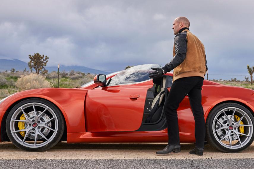 Jason Statham endorses Saleen Automotive in China