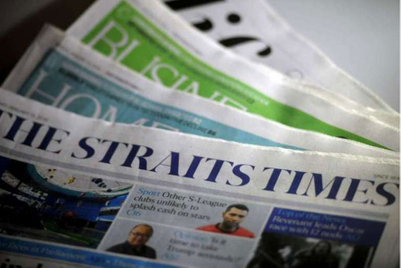 Amid print-media gloom, SPH offers personalised front pages (plus flowers and champagne)