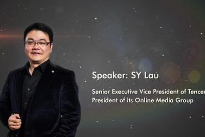 Cannes Lions 2015 Tencent SY Lau speech