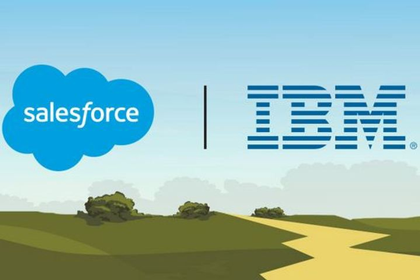 IBM was named the preferred cloud-services provider for Salesforce, while Salesforce was named the preferred customer-engagement platform by IBM.