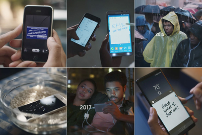Samsung to Apple fanboys: Grow up