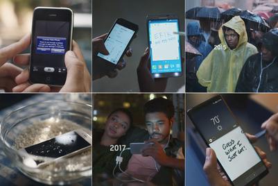Samsung to Apple fanboys: Grow up