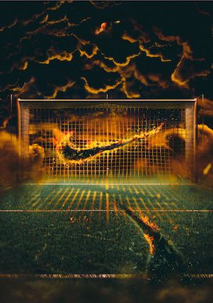 Artists visualise story of Nike football