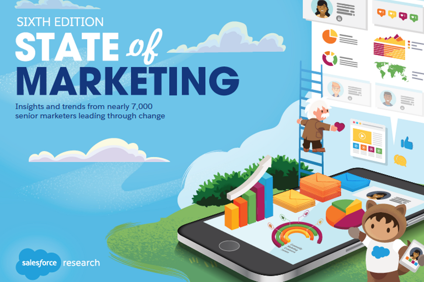 Insights from Salesforce's 6th State of Marketing Report to navigate change