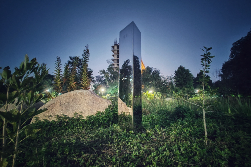 Monolith in Symphony Forest Park in Ahmedabad