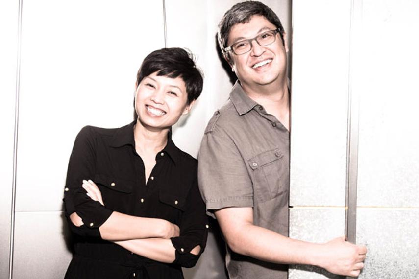 (从左到右):谭靖桥(Simone Tam)、Jeffry Gamble