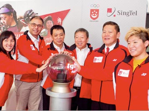 Singtel to support Team Singapore in five-year deal