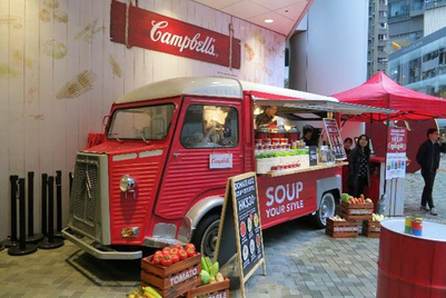 Campbell's soup aims to warm up Hong Kong