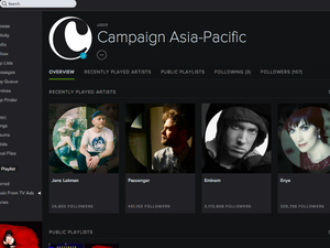 Lend us your ears: Check out Campaign's branded Spotify account