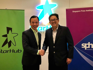 SPH, StarHub extend content and marketing partnership