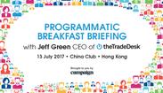 The Trade Desk Programmatic Breakfast Briefing