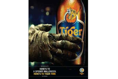 Y&R Malaysia creates Halloween ad for Tiger Beer