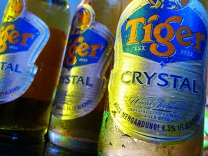 Tiger Beer launches Tiger Crystal in Singapore