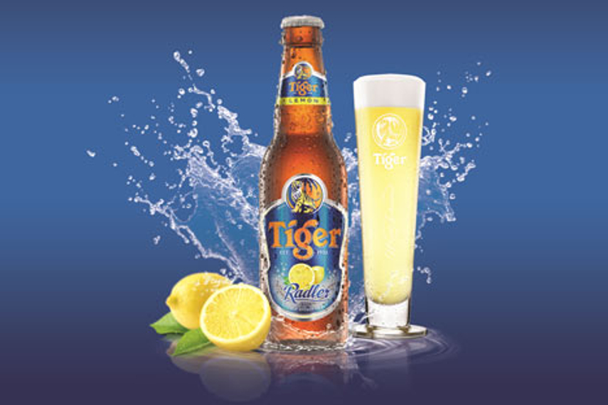 A beer with a fruity and sharp taste