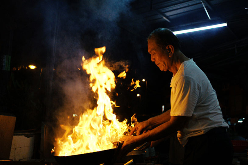 Tiger Beer fires up wok in street food-themed spot