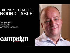 VIDEO: Weber Shandwick's Timothy Sutton on 'effort-full' creativity