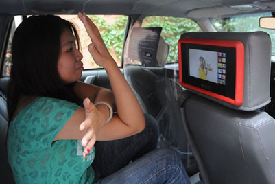 Touchmedia gets Shanghai to work out in cabs