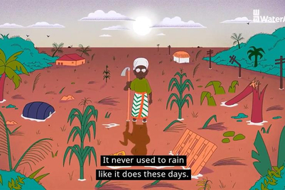 WaterAid animations reveal devastation of climate change in words of those affected
