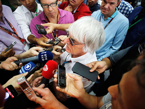 Exclusive: F1 boss Bernie Ecclestone on his billion-dollar brand